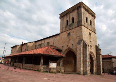 Iglesia de Andra Mari. Goikoa