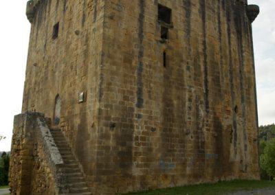 Torre Martiartu, fachada